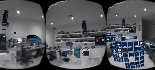 「重力实验室」Passthrough API AR游戏demo发布Reddit
