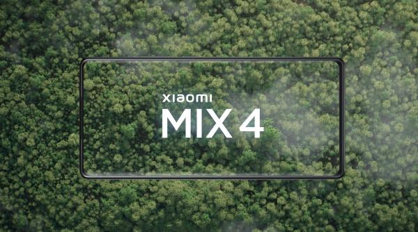 小米MIX 4正面照亮相:100%真全面屏!