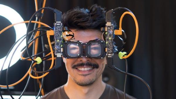 """旨在眼神交流:Facebook Reality Labs展示""""反向透视""""VR头显原型"""