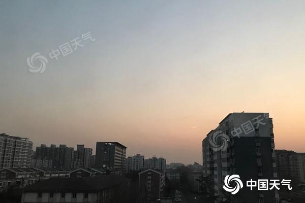 """北京周末气温平稳 下周冷空气""""速冻""""最低温将跌破零下10℃"""