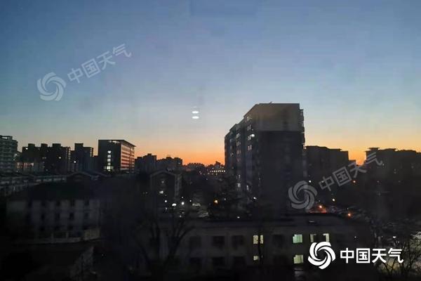 今明天北京维持晴燥天气 最高气温将上升至5℃