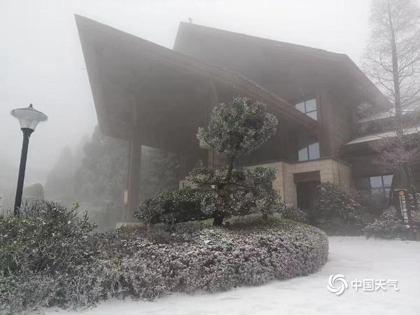 寒潮来袭 江西北部多地降今冬初雪
