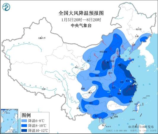 冻透+吹透!这些地方将度过近20年1月最冷天
