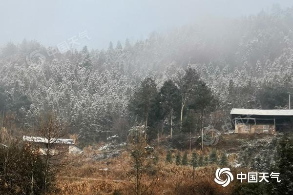 今天湘西南仍有雨雪侵袭 明天天气会变好 当地将有大雾