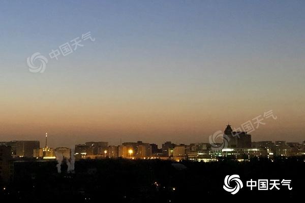 周末北京阳光在线气温升 早晚寒意浓