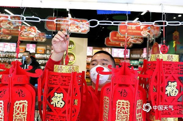 春节将至冰城哈尔滨迎来了新的一年