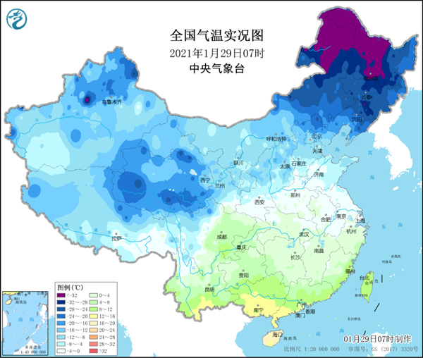 """-46.1℃!东北局地气温创今冬新低 极涡""""出圈""""感受北极冷"""