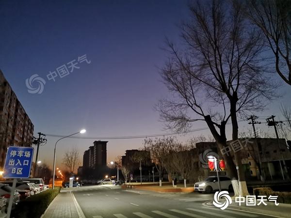 今天北京晴天气温升高 显然适合旅游