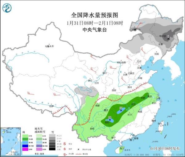 冷空气明日登场 内蒙古东北降温超10℃