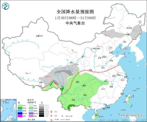 冷空气明天出道 内蒙古东北部的气温将下降10摄氏度以上