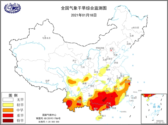 喊渴!华南多地超50天无有效降水 后天起雨水来解渴
