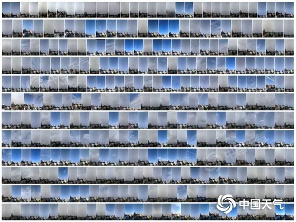 2020年蓝天日记 7城年度天空拼图出炉