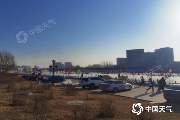 内蒙古阳光明媚 正在升温 春节假期前气温高 降水少