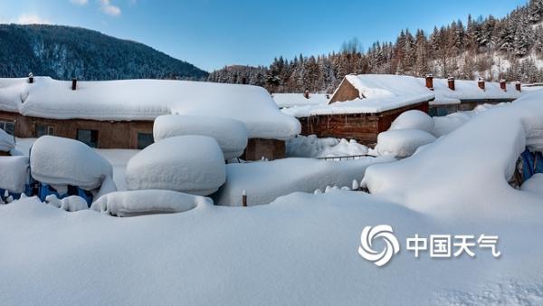 东北的冬天是什么颜色?