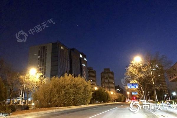 今明天北京以晴到多云为主 气温继续回升最高气温将达8℃