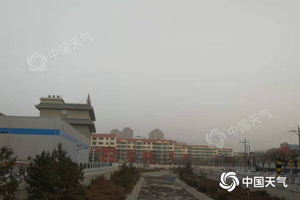 """内蒙古局地将现沙尘天气 后天大范围降雪""""上线"""""""