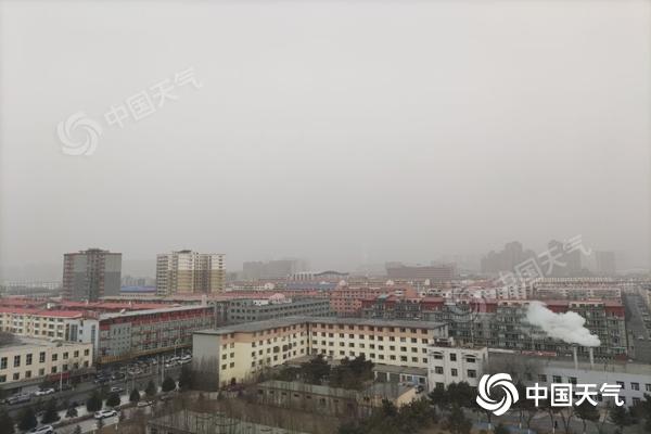 内蒙古中西部风沙不断 明起冷空气将携大风降温降雪来袭
