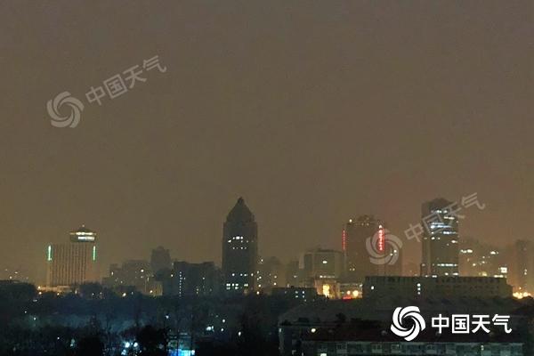 北京白天有小雪 气温会下降 后天会有冷空气