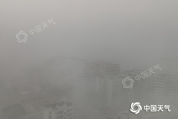 注意安全!广东雾轻 能见度低 韶关清远等地有零星小雨