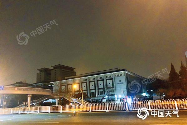 将飘雪!今天北京部分地区有降雪 明起冷空气携大风降温来袭