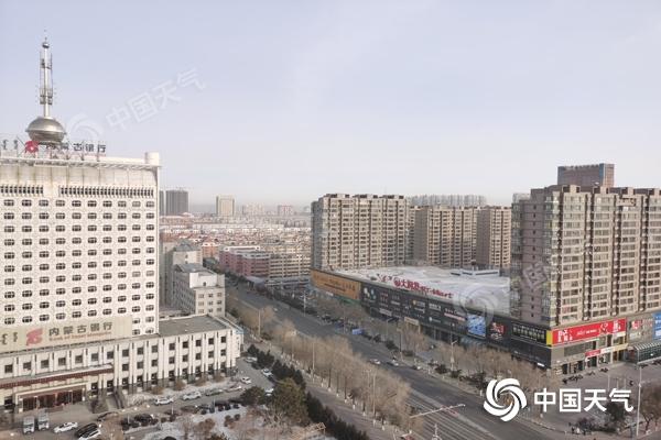 风雪交加!冷空气影响内蒙古局地降温超8℃ 中西部地区有沙尘
