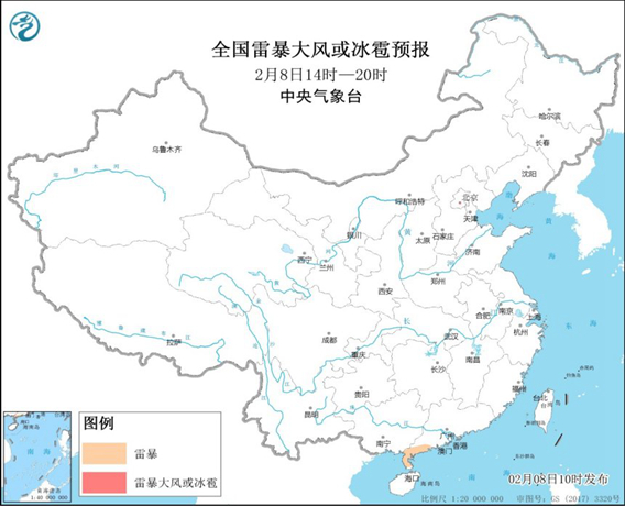 春雷响!南方大范围降水会在春节前来袭 今年年初很多地方会打雷