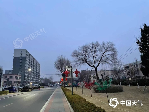 """北京的""""假春""""模式今天继续净化冷空气 然后消灭""""回归线"""""""
