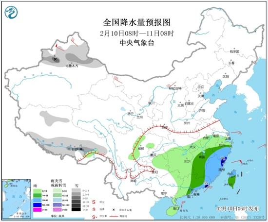 破纪录!年前南方经历同期少见强降雨 春节后半段阴雨再起