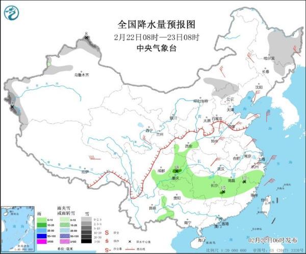 本周大部分时间气温急剧下降 中部和东部地区降水量增加