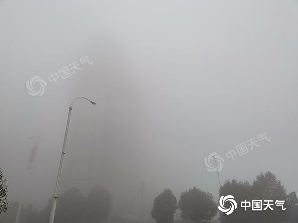 三天后湖南继续热身 雾和霾经常出现
