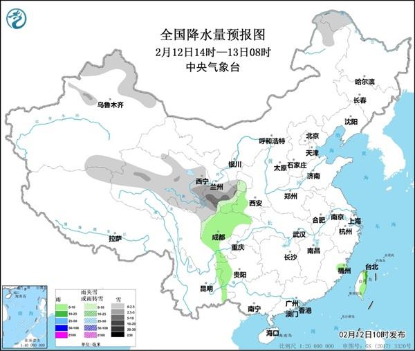 12日至14日 黄淮等华北地区有雾和霾