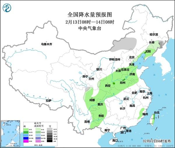 12日至14日华北黄淮等地有雾和霾