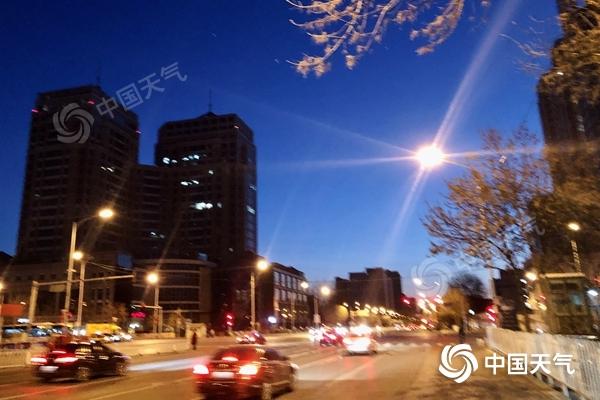北京今天最高气温接近冰点 从明天起三天内气温会上升