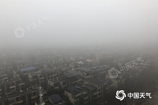 湖南雾影响高速同行 在接下来的三天里 会一次又一次地下雨