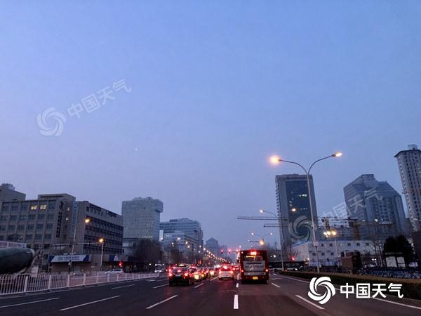 今日北京气温继续回升 最高温10℃