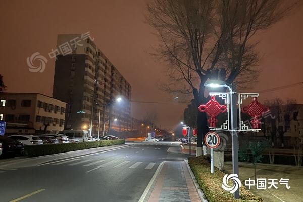 北京今天欢迎雨雪 明天和明天北风带来的低温