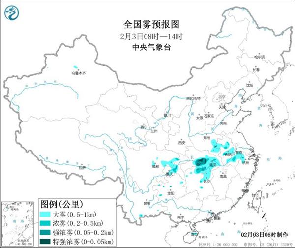 立春大回暖开启 华北等地霾发展增多