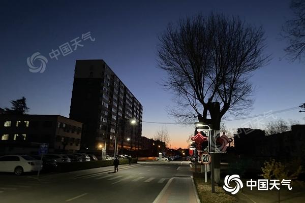 北京的北风今明两天都很强 明天最高气温只有3摄氏度