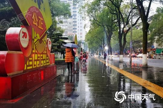 未来三天湖南大部仍多阴雨 局地有中雨
