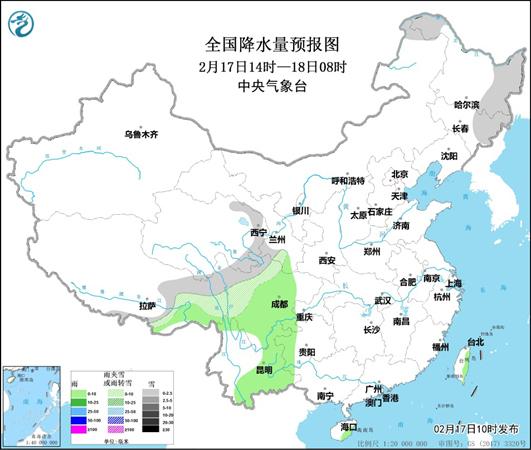 今天 冷空气继续影响中国东部 如黄海和东海