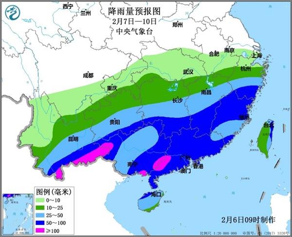 南方将迎大范围降雨过程 利于缓和旱情及降低森林火险