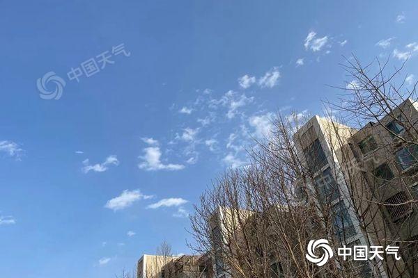 温度上升 上升!后天北京最高气温可达13℃