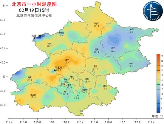 突破20℃!今天北京西部山区多地气温反超城区 专家释疑
