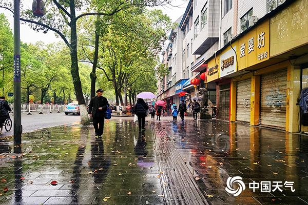 """雨来了!今起湖南大范围雨水""""上线"""" 局地或伴有强对流天气"""
