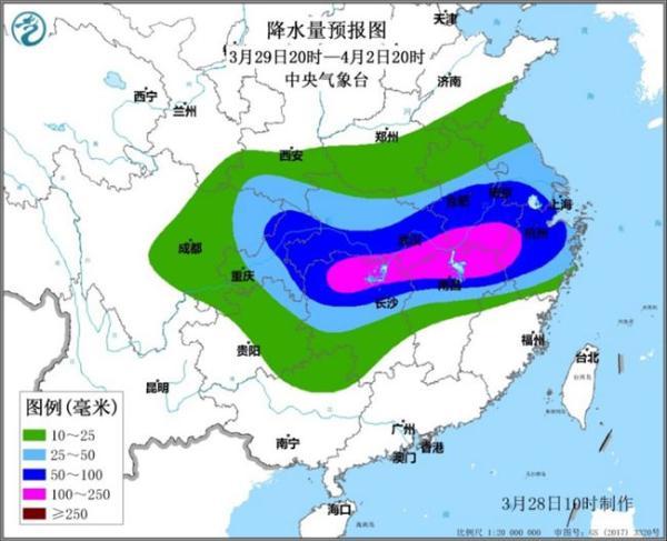 长江中下游地区将迎较强降雨过程 江西浙江局地将现雷暴大风