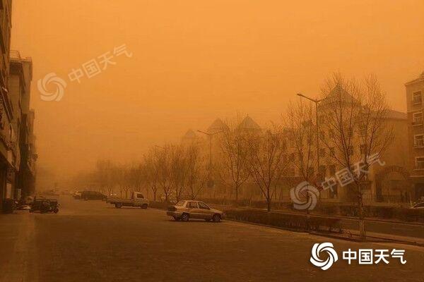 尘埃向山东、河南等地推进 明天江苏安徽湖北迎尘