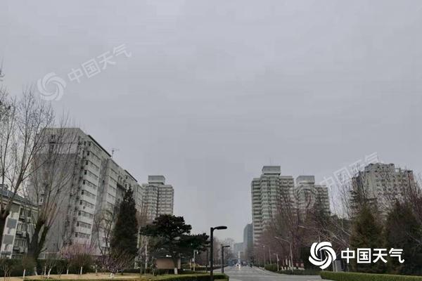 """北京今有降雨 周末北风渐起晴天""""上线"""""""