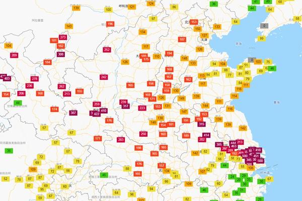 上海、江苏等地遭沙尘伏击 什么时候空气质量会改善?