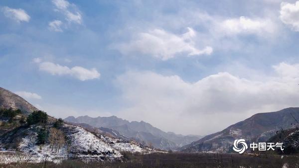 美!延庆雪后景色如水墨画卷