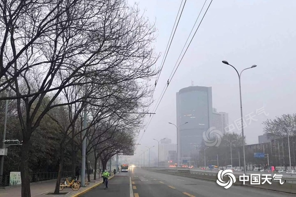 今明天北京部分地区有降雨 早晨能见度低